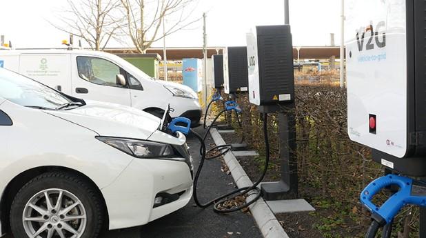I Kungsbacka pågår ett unikt projekt där kommunens elbilar fungerar som energireserv.
