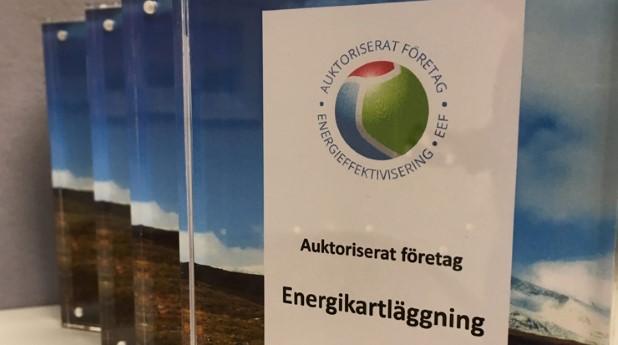 Auktoriserat företag - energikartläggning