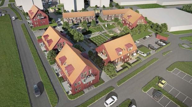 På det nya området Särö utanför Göteborg har tekniken 4GDH studerats.