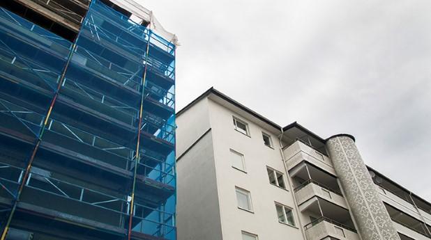 Renovering av ett hus