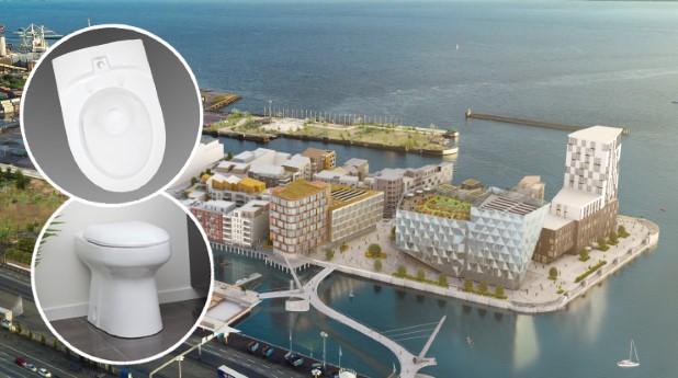 Vakuumtoalettsystem ska installeras i Oceanhamnen