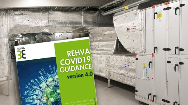 REHVA-vägledning och ventilationsaggregat