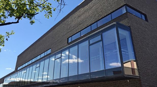 Fasaden på Munktellbadet