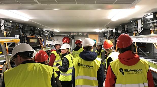 Litiumjonbatterierna kommer från elbussar som har trafikerat Göteborg.