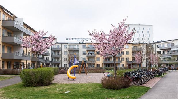 privatbostad i bostadsområde