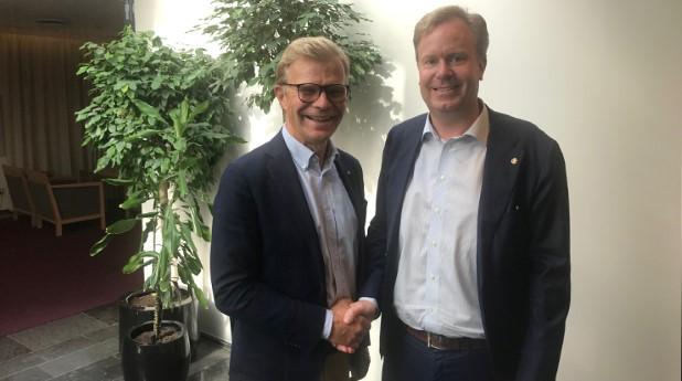 Ola Månsson och Johan Lindström