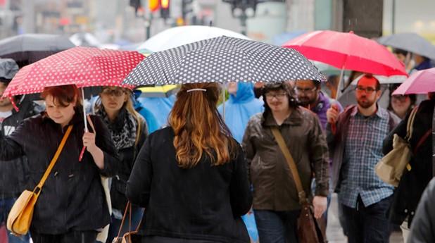 paraplyregn