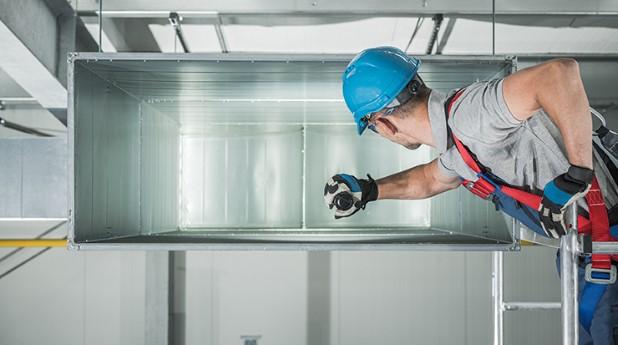 montage-av-ventilationskanal