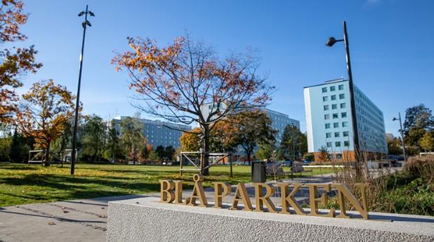 Blå parken i Upplands Väsby