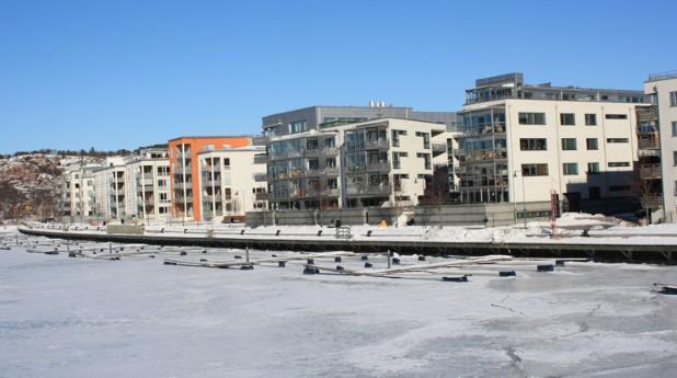 Flerbostadshus i Göteborg