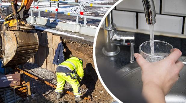 ledningsarbete-dricksvatten