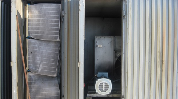 Luftfilter i ett ventilationsaggregat