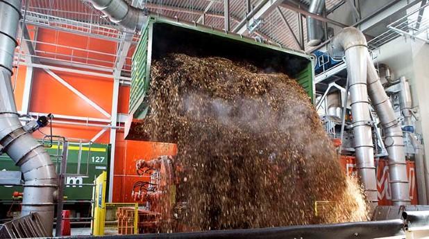 Biokraftvärmeverk i Värtan