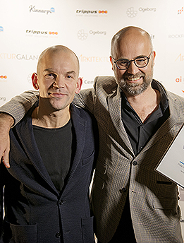 Bolle Tham och Martin Videgård