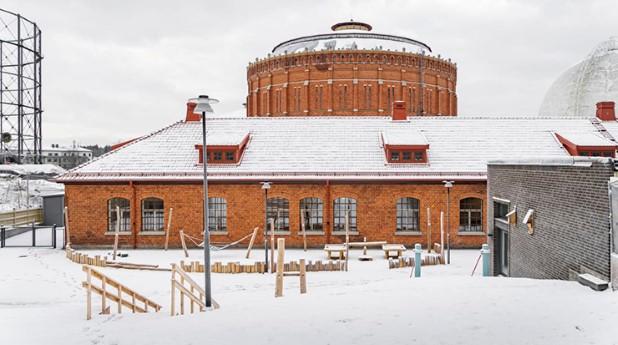 Den nya förskolan Anna i Norra Djurgårdstaden. Foto: Vectura