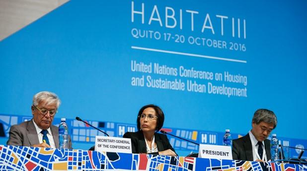 På FN-konferensen Habitat III tog man fram en ny agenda för hållbar stadsutveckling.