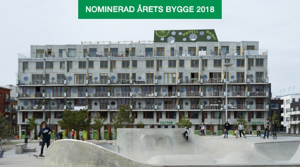 Cykelhuset Ohboy i Malmö är byggt i rå betong.