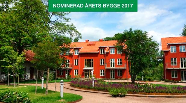 Baggstedtsgården har en trädgård i tysk stil.