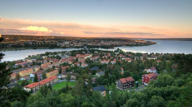 Hus på Frösön i Östersund