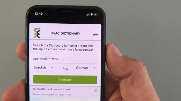 REHVA dictionary