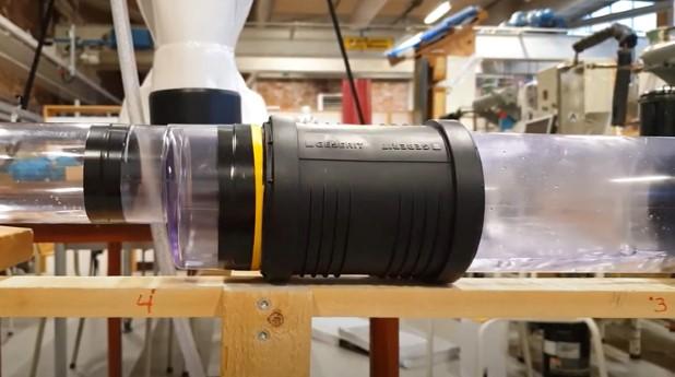 Bild från experimentet