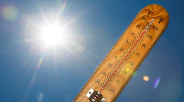 Termometer i solen