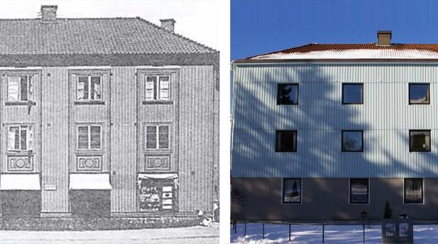 landshövdingehus, 1930-tal, 1980-tal, fasadrenovering