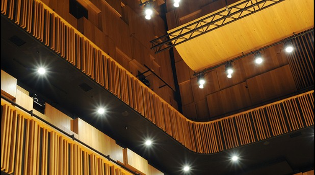 Akustik, konsertsal Malmö Live