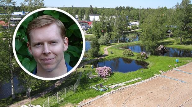 Borrhålsvärmelagret i Emmaboda och Emil Nilsson