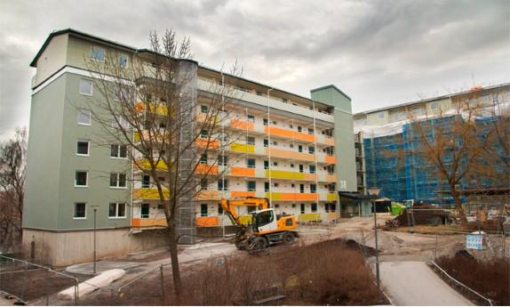 Renoveringsstödet går till socioekonomiskt utsatta områden.