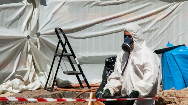 asbest, kvartsdamm, arbetsmiljöverket