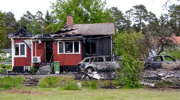 Villa förstörd av brand. brand_tage-persson_740x423