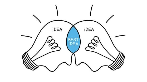 Glödlampslikande huvuden somhar ideér. innovationspartnerskap_ivelin-radkov_740x413