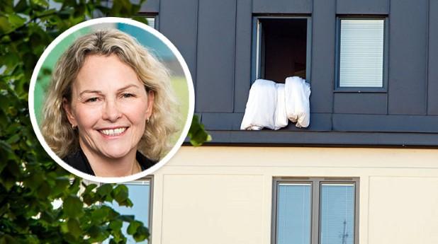 Åsa Wahlström och fönstervädring