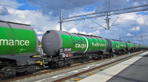 järnvägstransport av farligt gods