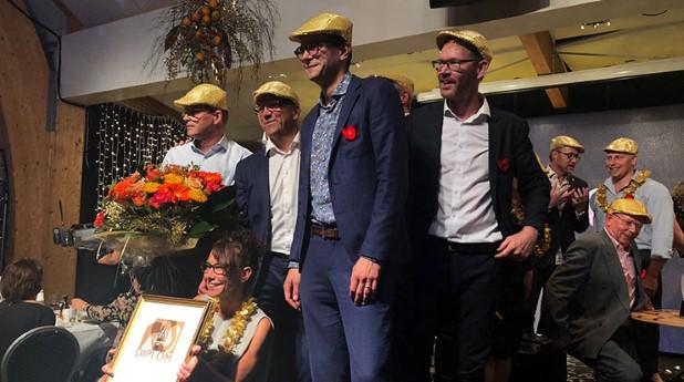 glada vinnare av årets stadskärna 2018 linkoping