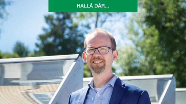 Joakim Byström, vd på Absolicon