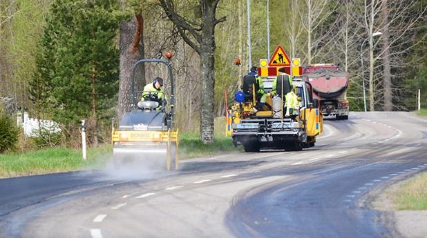 asfaltsbeläggning