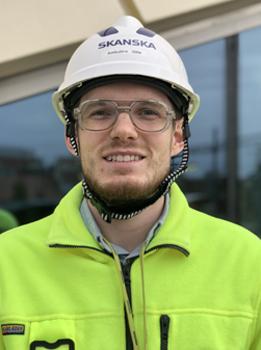 Ambjörn Gille, projektingenjör på Skanska