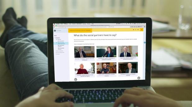 Webbutbildning om arbetsmiljö