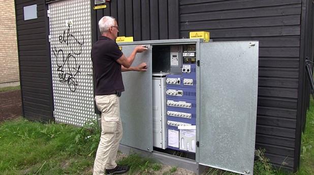 Kenneth Edström, kabelskåp, elskåp, dimmer, styrsystem