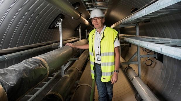 All infrastruktur kan förläggas i samma kulvert, enligt Gunnar Rydin.