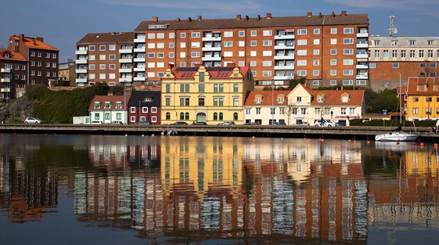 flerfamiljshus i Karlskrona