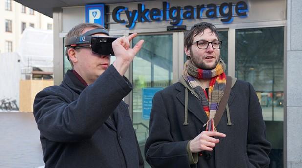 Mikael Malmkvist, Fredrik Johansson, AR-glasögon, Odenplan, CoClass, LOD